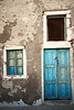 """Greek Charm - Blue Window and Door""<br /> Oia, Santorini<br /> October 2008"