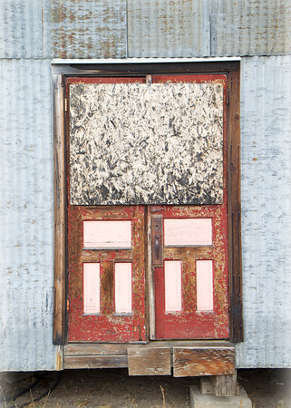 """""""All Boarded Up""""<br /> Yukon Territory, Canada<br /> September 2013"""