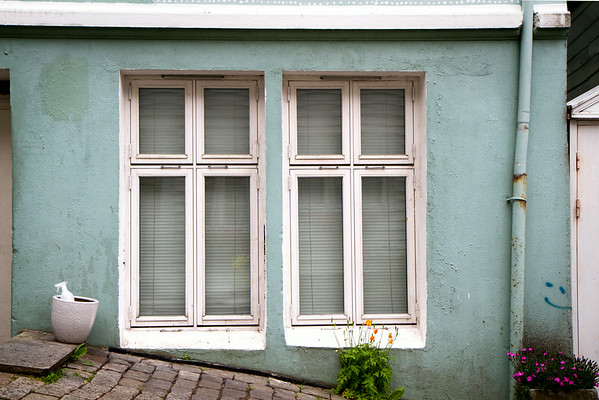 """A Window Pair""<br /> Bergen, Norge<br /> June 2014"