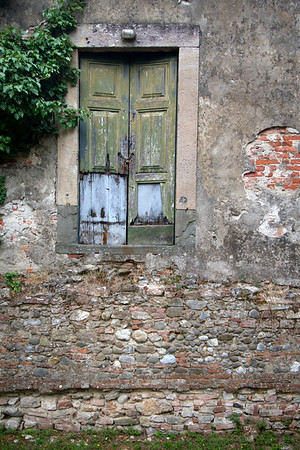 """Weathered Entrance""<br /> Lucca, Tuscany<br /> July 2011"