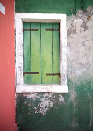 """""""Colorful Wall""""<br /> Burano, Italy<br /> July 2011"""