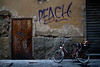 """""""Peach Was Here""""<br /> Florence, Italy<br /> July 2011"""
