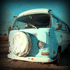 """VW Van""<br /> Central Alberta, Canada<br /> October 2013"