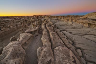 Bisti Wilderness - Clean Dawn Lines 2