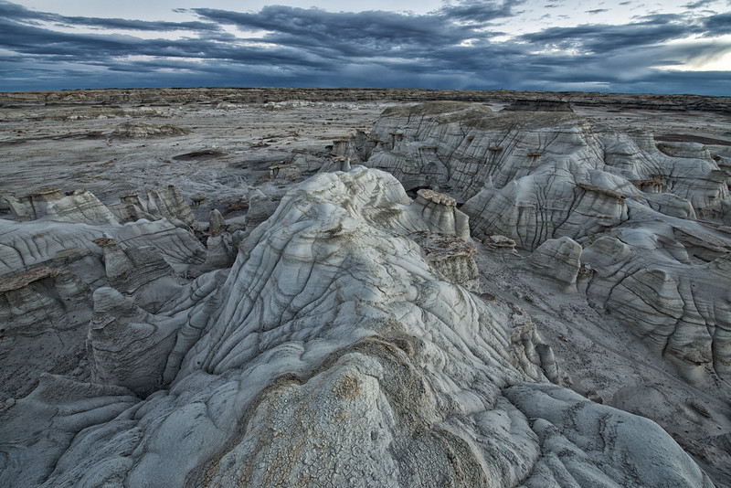 Bisti Wilderness - Silver Dawn