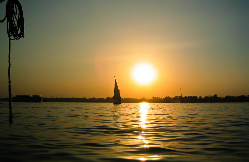 Nile River Sailboat