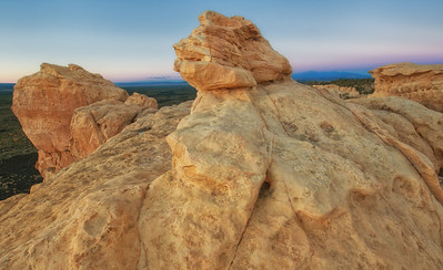 El Malpais National Monument - Sandstone Bluffs