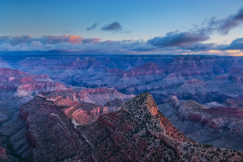 Sunrise at Grand View Point - 2