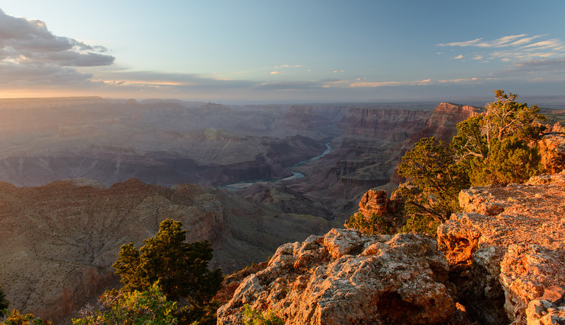 Sunset at Desert ViewPoint