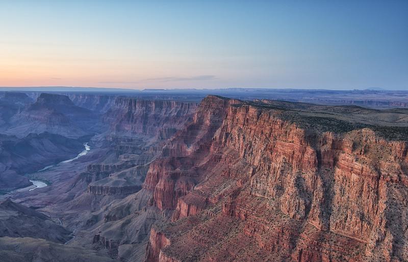 Desert View Palasades -Grand Canyon National Park