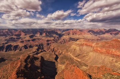 Daytime Clouds - Mather Point