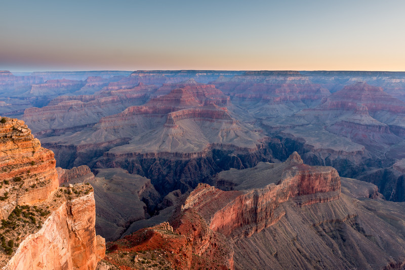 An Early Morning at the Grand Canyon