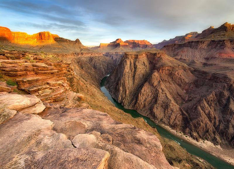 Grand Canyon - Plateau Point Sunrise