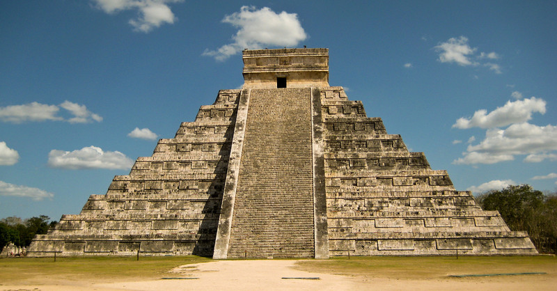 Chichen Itza Frontside
