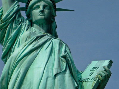 Lady Liberty Closeup