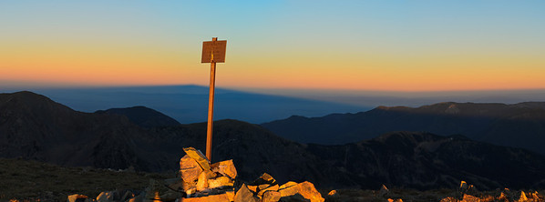 Mt Walter's Shadow