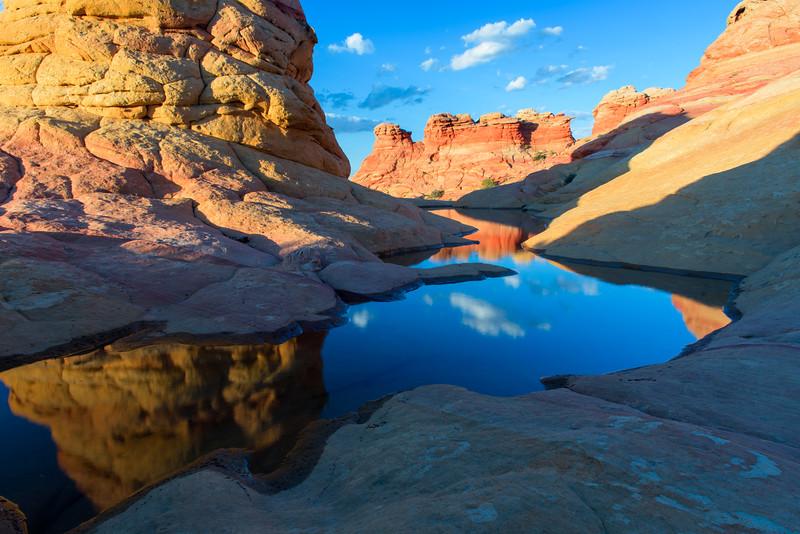 Sandstone Reflection