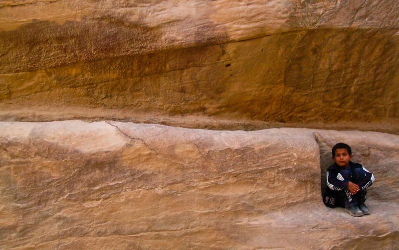 Aqueduct in Petra