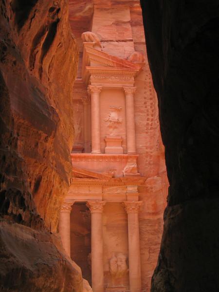Petra Treasury Ladder
