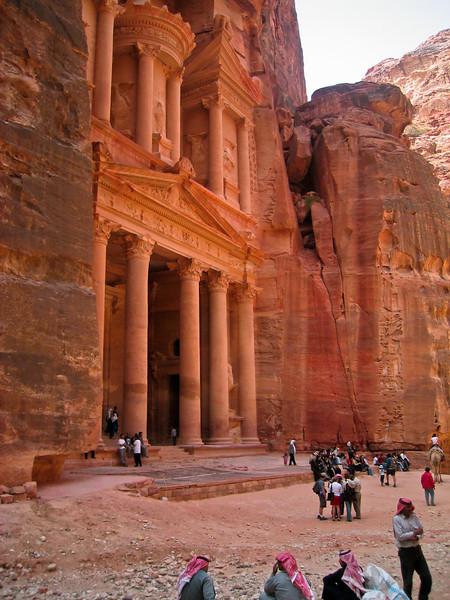 Petra Treasury Heat