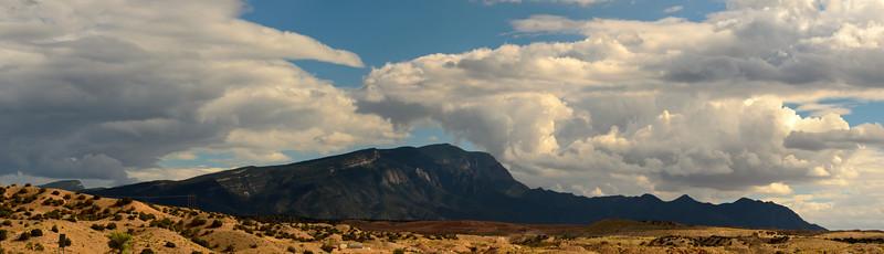Cloud Battle over North Sandia Peak