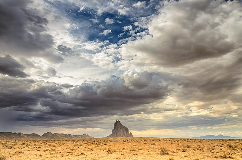 Shiprock Clouds