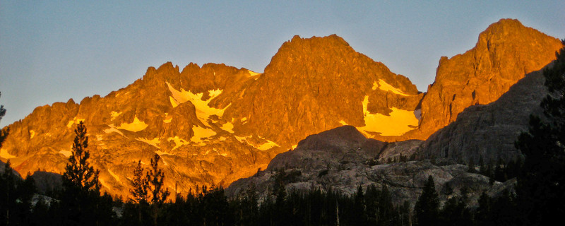 Mt Ritter at Sunrise