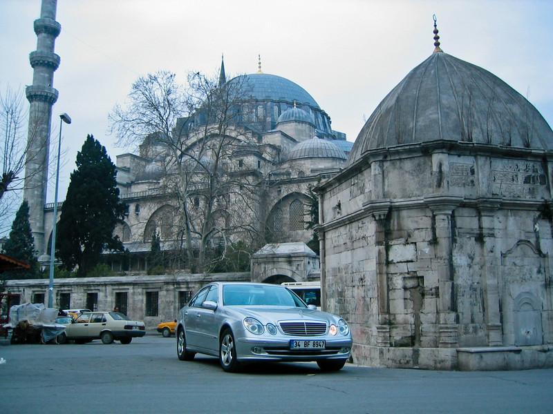Mosque & Mercedes