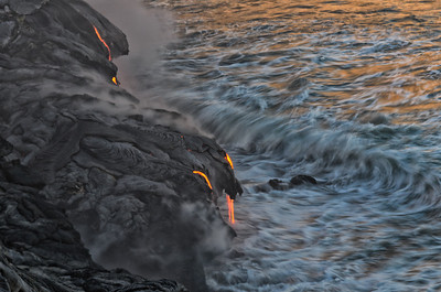 Lava Reflection