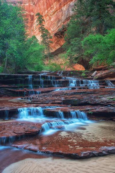 Waterfalls of Left Fork North Creek