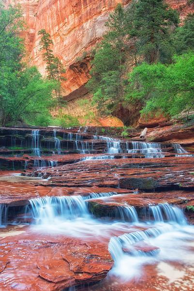 Waterfalls of Left Fork North Creek 3