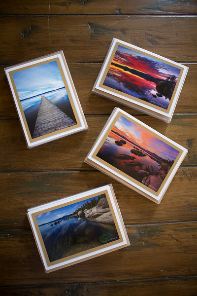 Four different sets of Tahoe cards are available