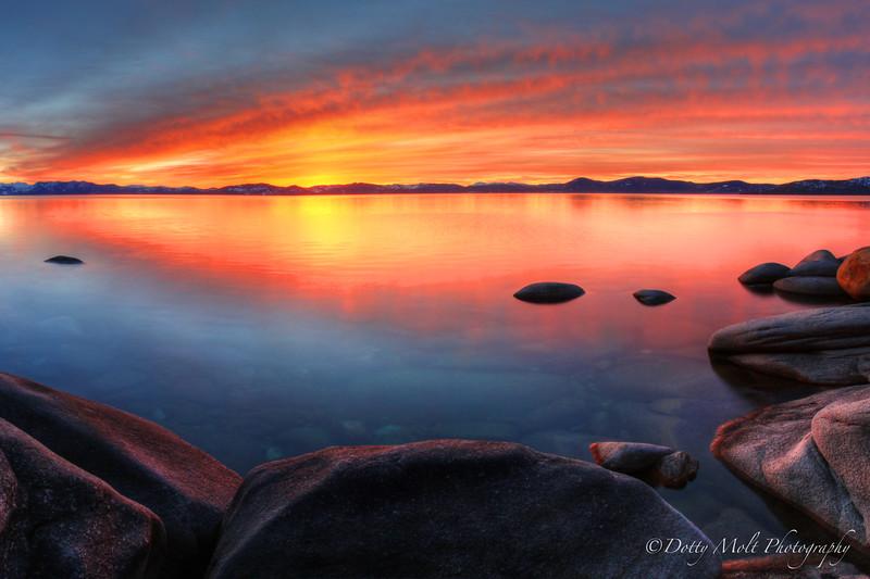 Tropicana Tahoe Sunset