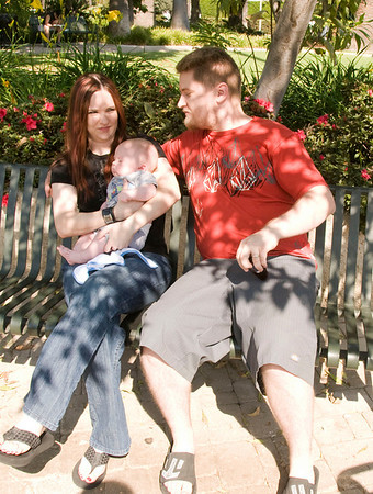 Kyle, Carrie and Levi
