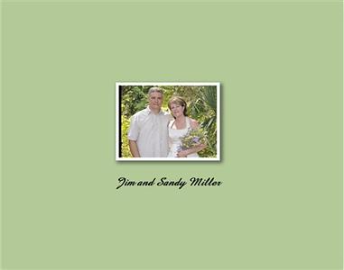 Jim and Sandy's Wedding book