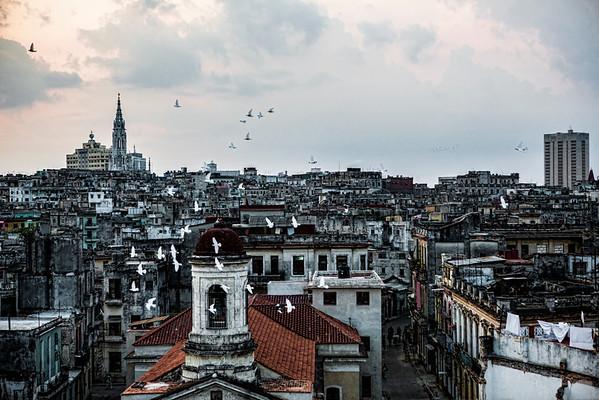 Havana, Cuba (rooftop)