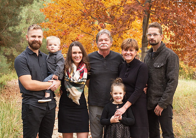 Boise Idaho Fall Family Photos