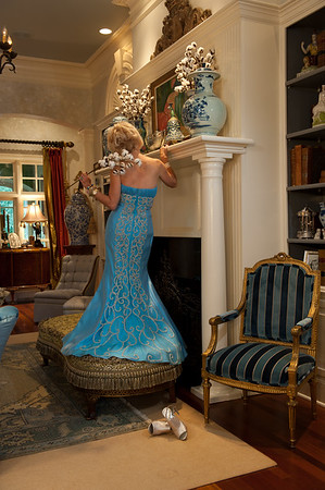 """""""Be among the best dressed rooms"""", part of a series for Knotting Hill Interiors"""