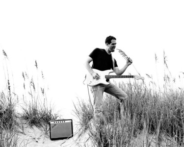 Jeff Zona rockin' the beach reed mic, His 3rd CD, for this one I also designed and laid out the case
