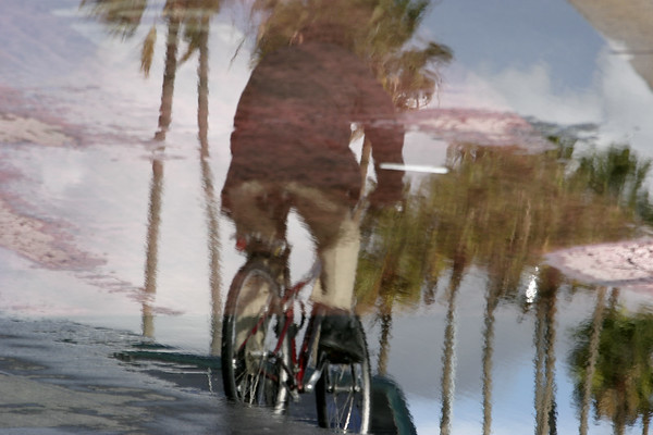 """Rainy Day Reflections #6""<br /> San Diego Harbor"