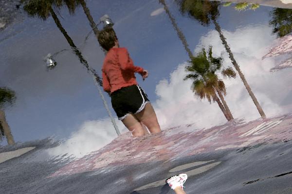 """Rainy Day Reflections #5""<br /> San Diego Harbor"