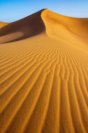 Sunrise over the Saharah Desert, Morocco