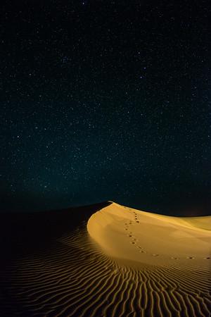 Stars over the Saharah Desert, Morocco