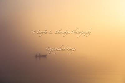 Foggy Fishing (Day 16/366)