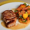 Pan Roasted Pork Loin with Peach Tomato Salad (Day 192/366)