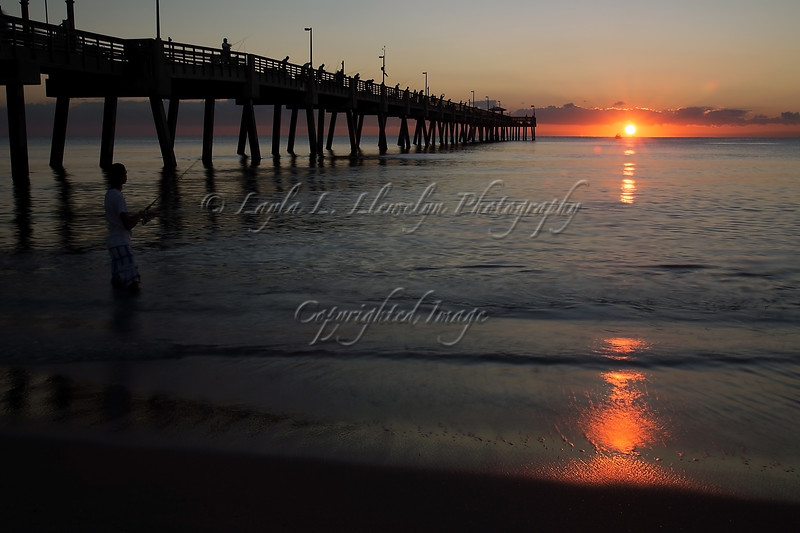 Day 272 (Photo 2) Sunrise at Dania Beach Pier