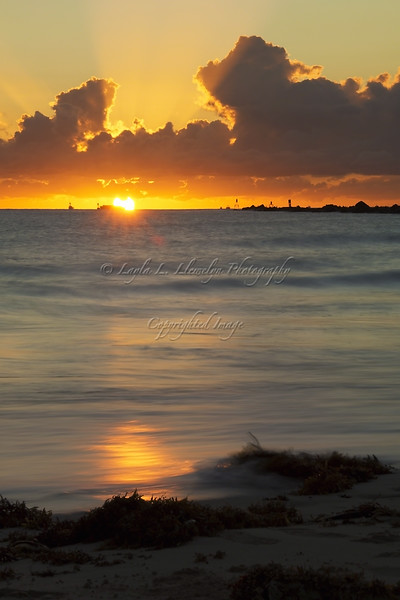 Day 316 (Photo 2) Sunrise Drama at South Pointe, Miami Beach, Florida