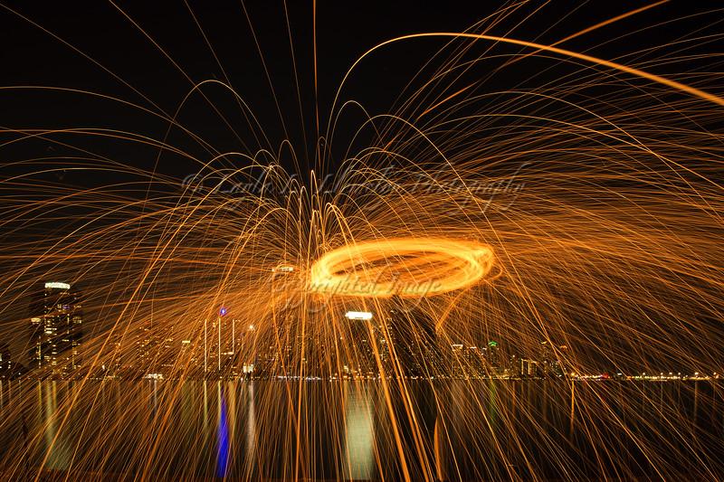 Day 365 (Photo 1) Rain of Fire in Miami