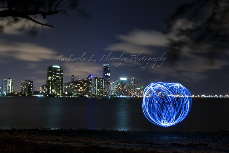 Day 309 Light Painting In My City