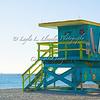 Day 40 (Photo 2) Surfer Shack Lifeguard House on Miami Beach (So Be, Florida)